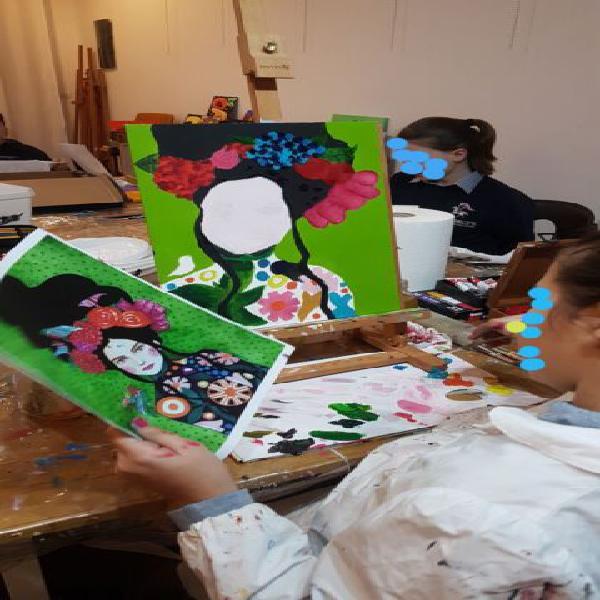 Corso di pittura per bambini (acrilico, olio disegno)