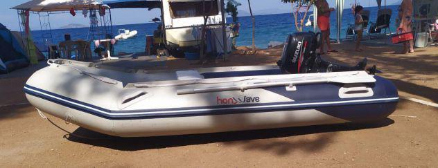 Gommone hondawave t320 chiglia pneumatica motore suzuki 4t