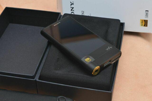 Sony nw-zx2 walkman hi-res ldac 128gb pro
