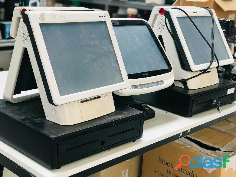 Registratore fiscale digitale usato stock 3pz