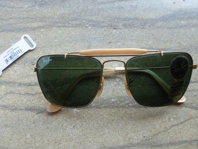 Vendo occhiali da sole ray-ban w1347 usa originali nuovi