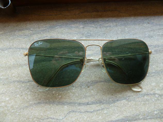 Vendo occhiali da sole ray-ban vintage usa originali nuovi