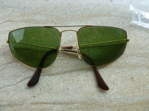 Vendo occhiali da sole ray-ban vintage originali nuovi