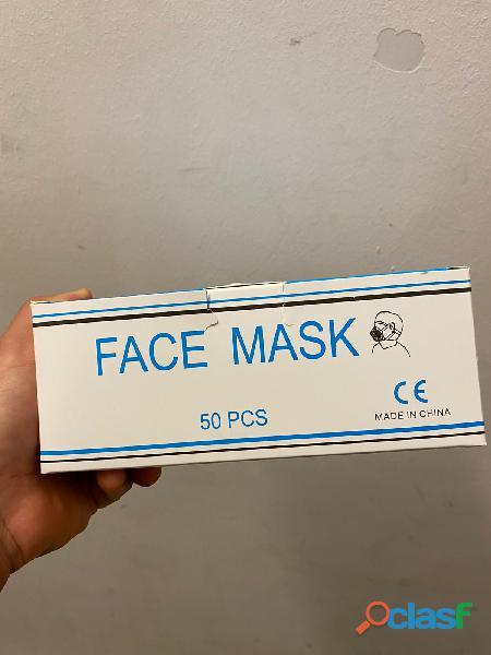 Box da 50 mascherine ad uso medico monouso 2