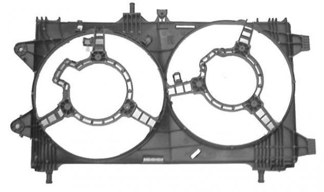 Convogliatore 1.8 16v a.c. - 1.9 jtd a.c. impianto