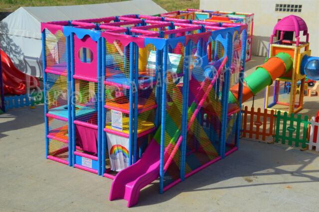 Giochi gonfiabili per bambini playground saltarello