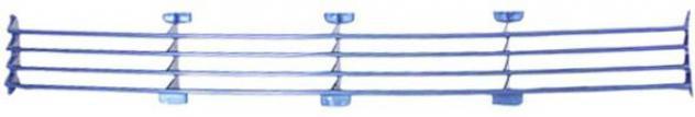 Griglia centrale paraurto per vetture con fendinebbia per