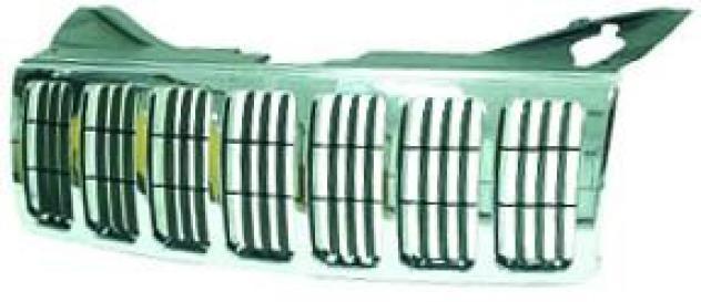 Griglia radiatore cromata per jeep grand cherokee dal 2005