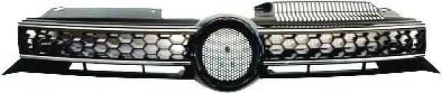 Griglia radiatore cromata per volkswagen golf vi gti dal