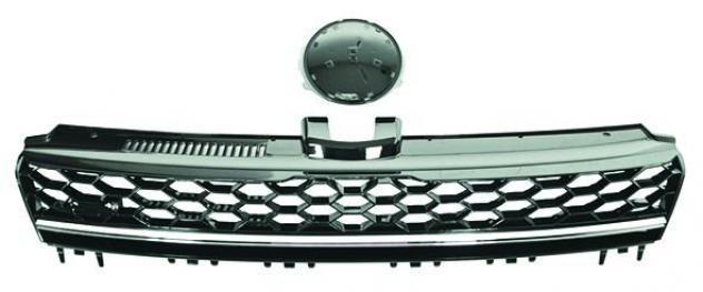 Griglia radiatore cromata per volkswagen golf vii gti dal