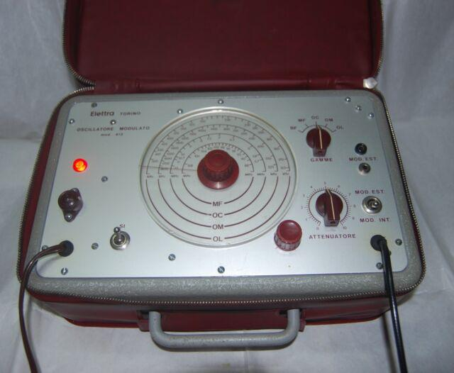 Oscillatore modulato a valvole sre mod.412
