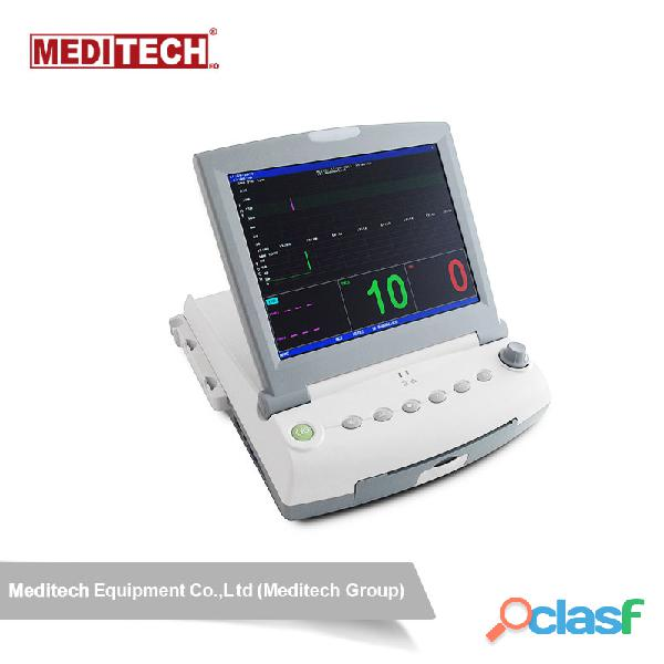 Advanced fetal monitor with large color screen,for twins ,and have 6 parameters options fetal heart