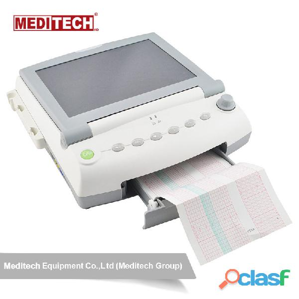 Advanced fetal monitor with large color screen,for twins ,and have 6 parameters options fetal heart 1