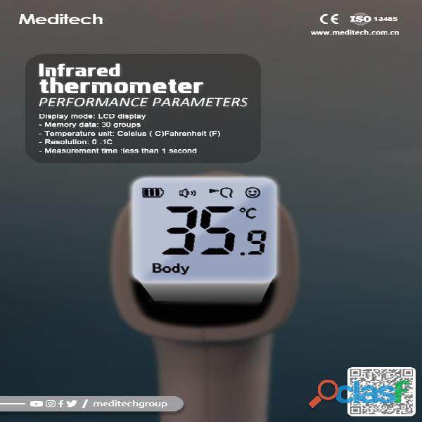 MDT 90 INFRA RED THERMOMETER Meditech Infrared thermometer 6