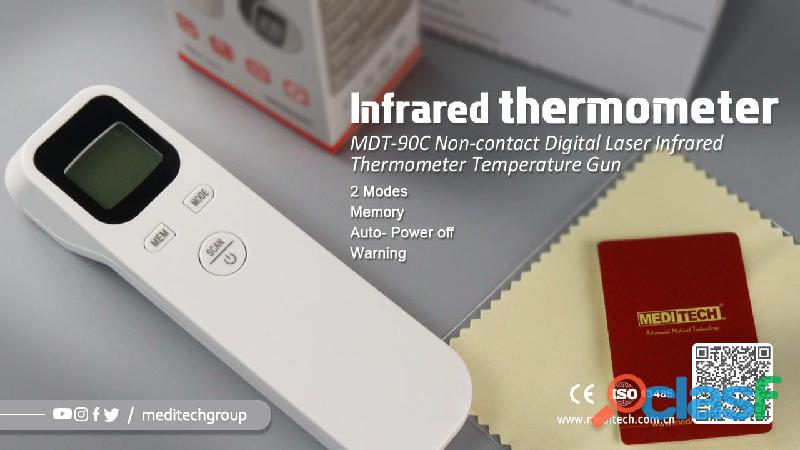 MDT 90C /F02 NON CONTACT DIGITAL INFRARED THERMOMETER 1