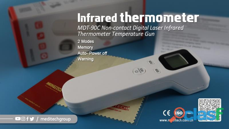 MDT 90C /F02 NON CONTACT DIGITAL INFRARED THERMOMETER 7