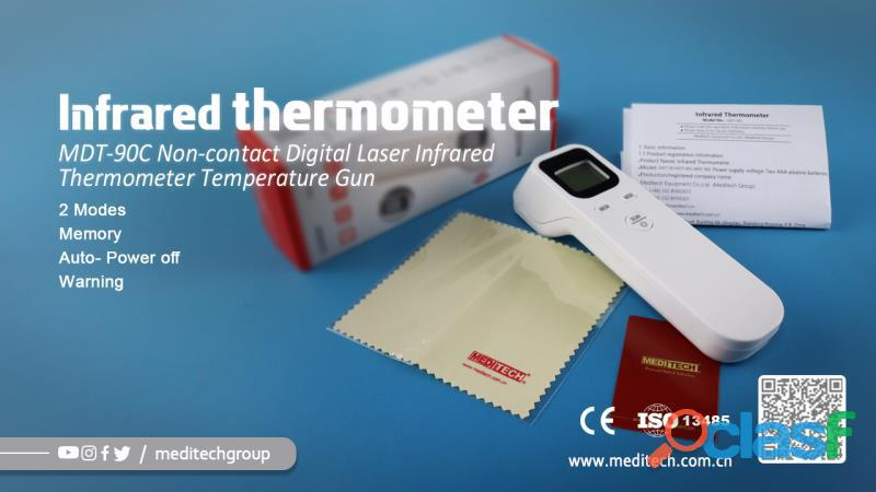 MDT 90C /F02 NON CONTACT DIGITAL INFRARED THERMOMETER 8