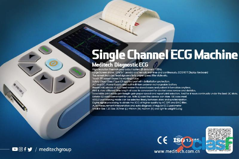 Palm size ECG machine with CE certificate ,come with PC ECG software for data transfer from the ecg