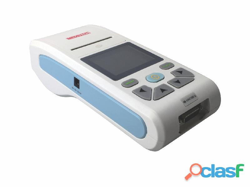 Palm size ECG machine with CE certificate ,come with PC ECG software for data transfer from the ecg 3