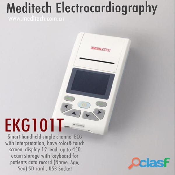 Palm size ECG machine with CE certificate ,come with PC ECG software for data transfer from the ecg 6