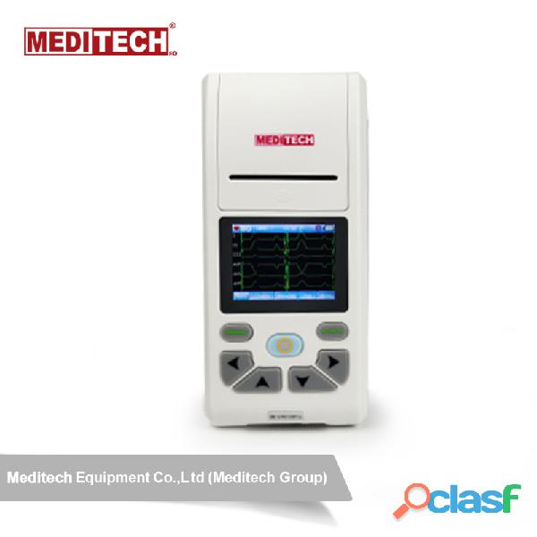 Palm size ECG machine with CE certificate ,come with PC ECG software for data transfer from the ecg 8