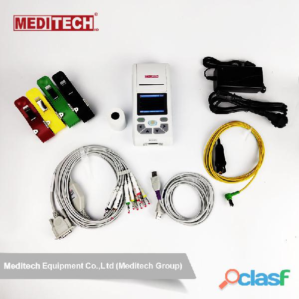 Palm size ECG machine with CE certificate ,come with PC ECG software for data transfer from the ecg 10