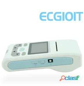 Palm size ECG machine with CE certificate ,come with PC ECG software for data transfer from the ecg 12