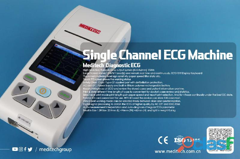 Palm size ECG machine with CE certificate ,come with PC ECG software for data transfer from the ecg 14