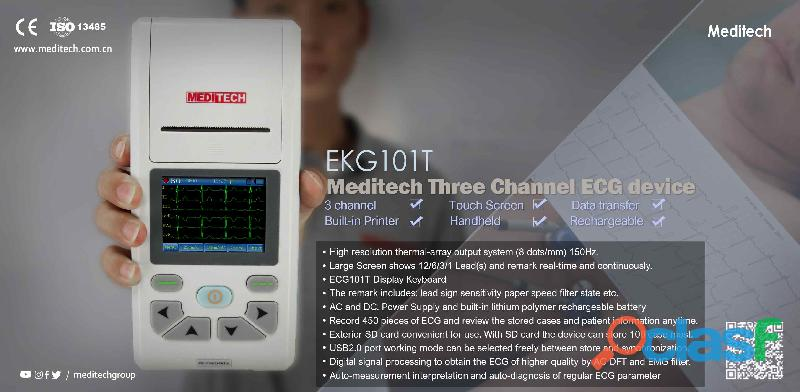 Palm size ECG machine with CE certificate ,come with PC ECG software for data transfer from the ecg 15