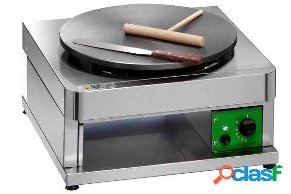 Piastra per crepes a gas singola - diametro 400 mm - potenza 3600 w