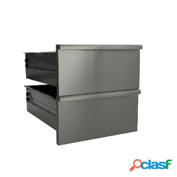 Coppia di cassetti per base e armadio da 40 cm