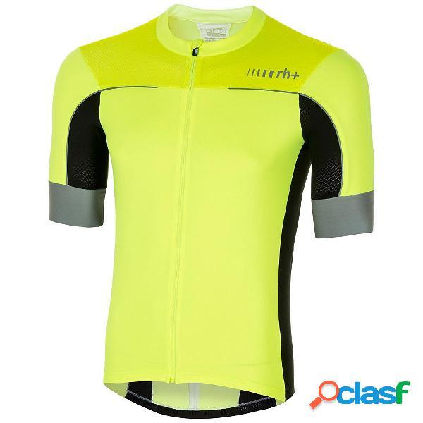 Maglia ciclismo zero rh lapse jersey (colore: nero-bianco-rosso, taglia: s)