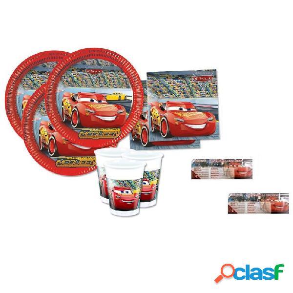 Kit n.23 accessori per compleanno cars 3