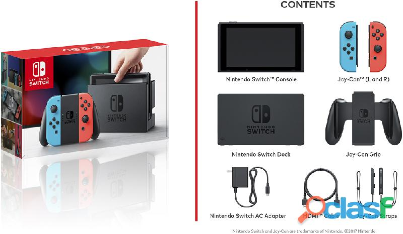 Nintendo Switch Console Kit completo 1