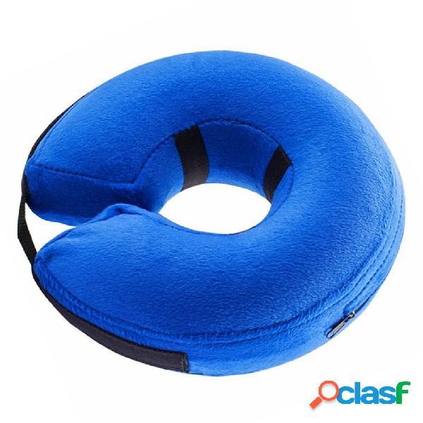 Collare elastico di protezione del collare elisabettiano del collare del cucciolo di gatto blu di colore blu