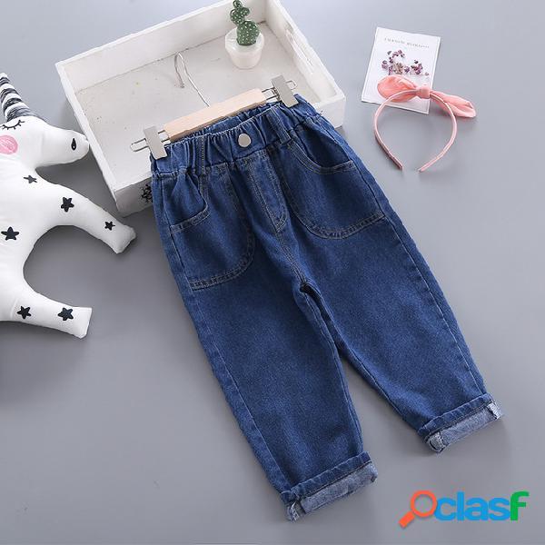 Abbigliamento per bambini abbigliamento per bambini pantaloni nuovi jeans estivi per bambini baby 1-10 pantaloni harem