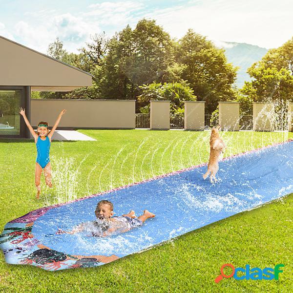 Serie di giochi per bambini: scivolo acquatico singolo