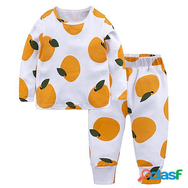 Pigiami per bambini abbigliamento da notte per bambini abbigliamento da notte per bambini set di pigiami per bambina