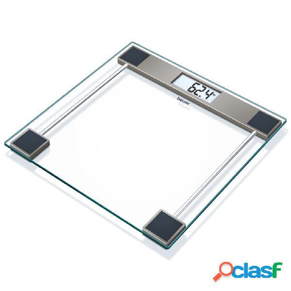 Beurer bilancia pesapersone gs 11 in vetro trasparente