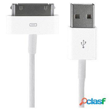 Cavo dati da 30 pin a usb iphone, ipad, ipod