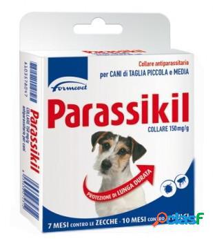 Formevet parassikil collare per cani tagla piccola media