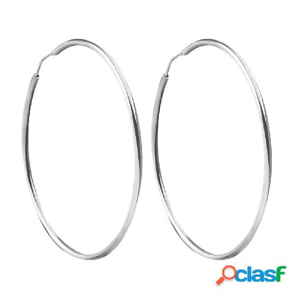 Orecchini a cerchio in argento 925 varie misure mod. 601.00165 5