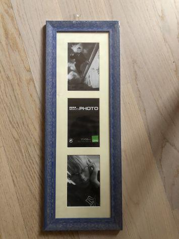 Cornice portafoto per 3 foto 17x56