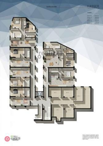 Ufficio di 274mq in via giuseppe brighindi a frosinone