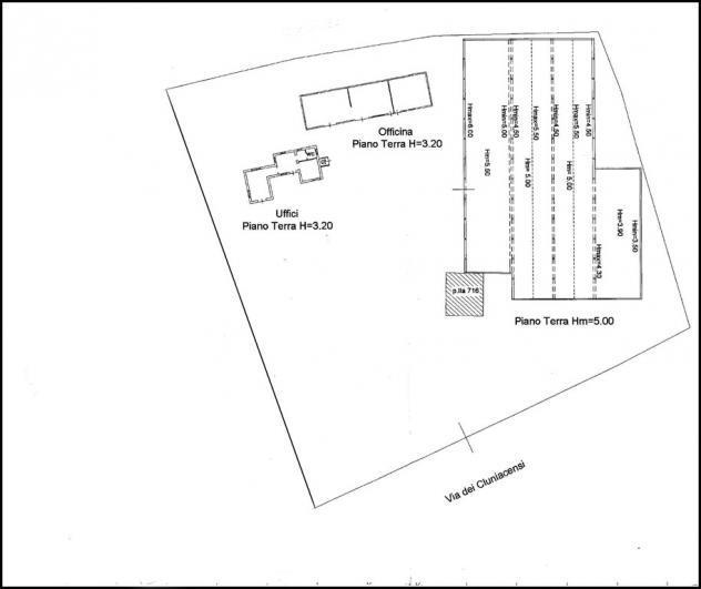 In affitto capannone tiburtina mq2200 affitto euro9500