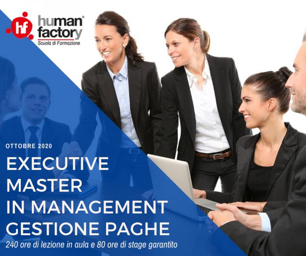Executive master in management gestione paghe