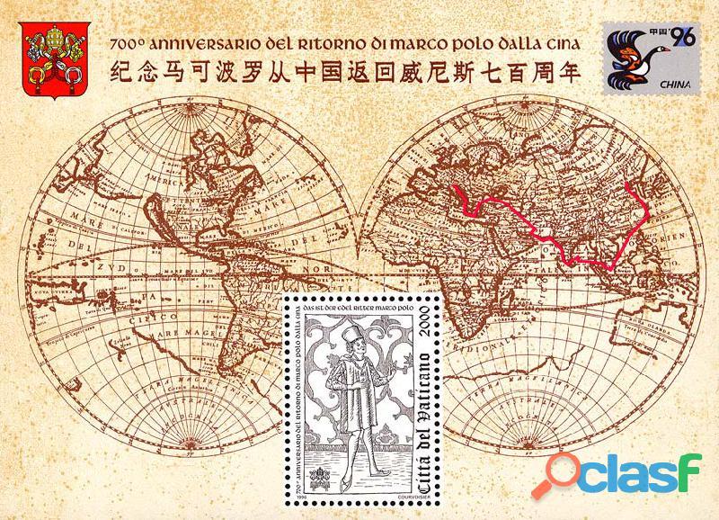 Francobolli nuovi annata 1996 Vaticano