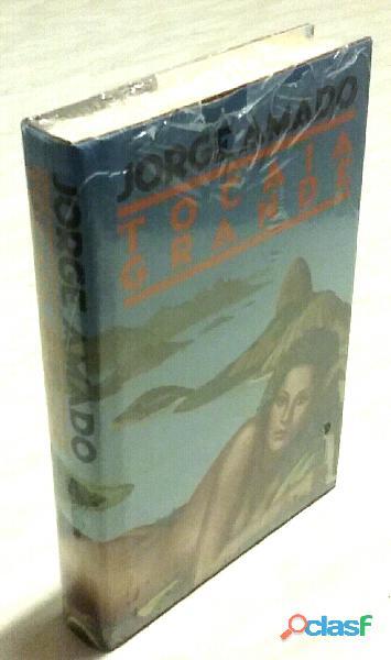 Tocaia grande di Jorge Amado; Ed.CDE, ottobre, 1986 nuovo con cellophan