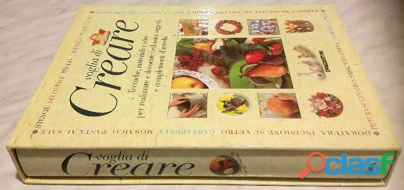 VOGLIA DI CREARE JOCELYN KERR HOLDING+COFANETTO EDITORIALE DE AGOSTINI 2000 NUOVO 1