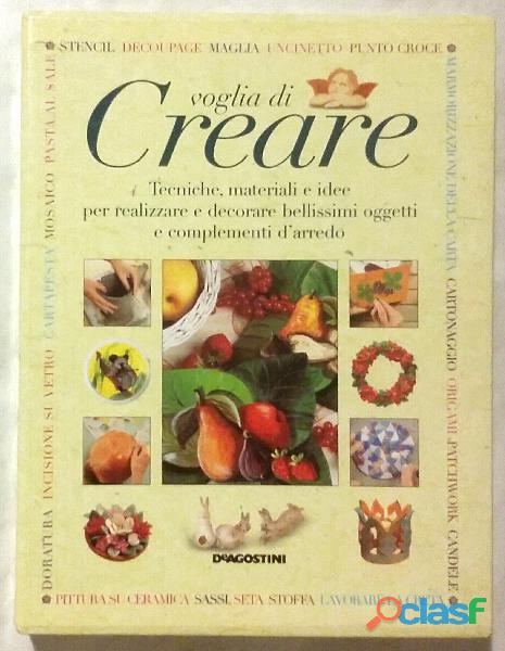 VOGLIA DI CREARE JOCELYN KERR HOLDING+COFANETTO EDITORIALE DE AGOSTINI 2000 NUOVO 2